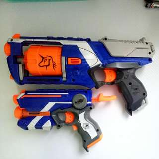 NERF Strongarm(With Exo's Decal) And Firestrike
