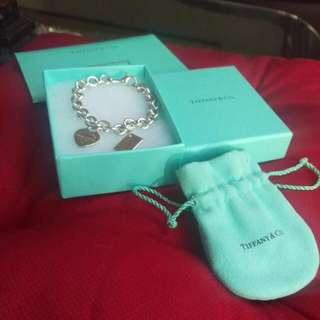 Tiffany And Co. 2 Pendant Bracelet
