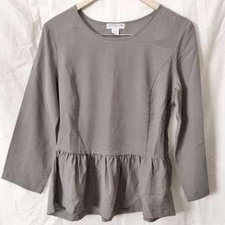 Grey Cotton On Blouse