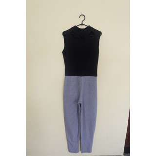 Jumpsuit houndstooth