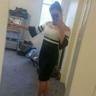 Off Shoulder Bardot Formal Dress