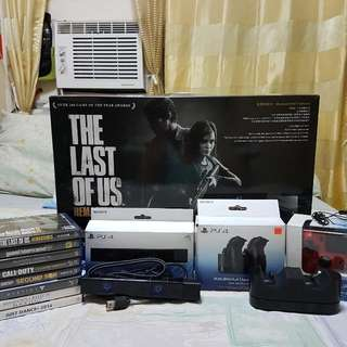 PS4 500gb - The Last of Us Remastered bundle (Jet Black)