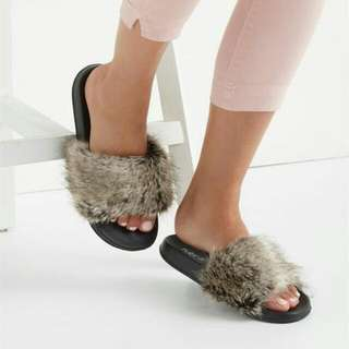 Cotton On Fur Wild Slide