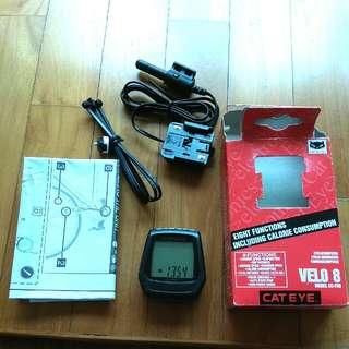 Cateye Velo 8 Speedometer