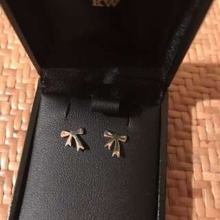 Karen Walker Mini Bow Stud Earrings