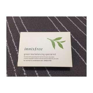 🚚 ✨全新含郵資✔️innisfree 綠茶水平衡護膚組