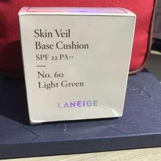 Laneige Skin Veil Base Cushion - Light green Refill