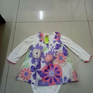 Jumper Flower Purlpe 9 Month
