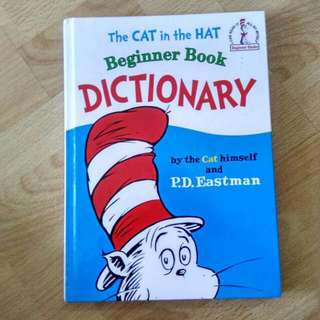 📖 Beginner Book Dictionary, The Cat In The Hat