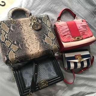 Aldo Chanel Dior