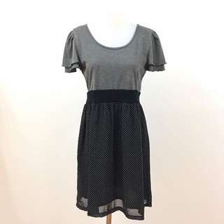 Cute Dress Cotton Chifon
