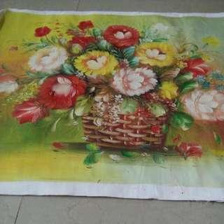 Lukisan Tangan Kanvas