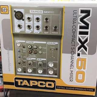 Tapco M50 5 Channel Mixer