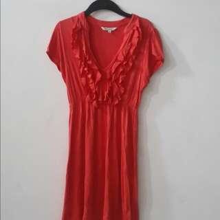 Dress Cantik Seperti Baru  Baru 1x Pakai