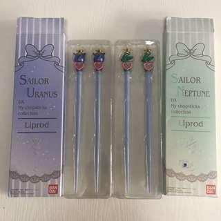 [包平郵]日版BANDAI限定 美少女戰士筷子My chopsticks Collection 天王瑤 Sailor Uranus 海王美智留 Sailor Neptune