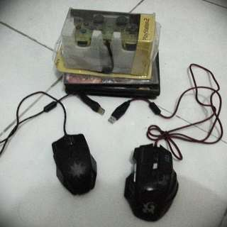 Dragonwar Mouse + Local Mouse + Ps2 Controller + Free Games Bundle