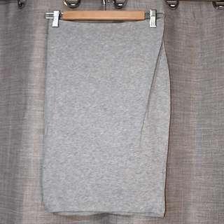 Tezenis Grey Stretch Mini Skirt