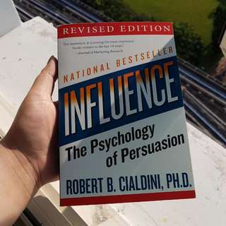 BN INFLUENCE- THE PSYCHOLOGY OF PERSUASION PAPERBACK