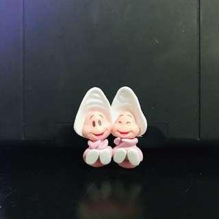 (現貨)日本迪士尼PUTITTO愛麗絲夢遊仙境 牡蠣寶寶 蚌殼杯緣子盒玩