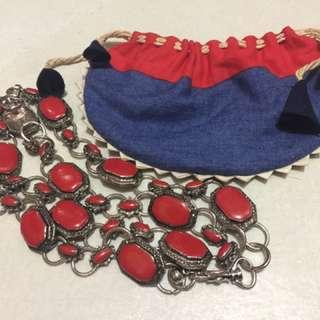 Vintage Metal Redstone Belt
