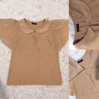 Japanese Nude Capeish Top