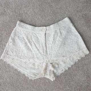 Lace Azuki Shorts