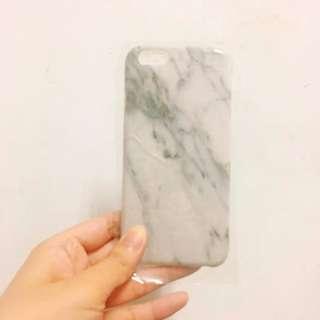 6/6S 黑白大理石質感手機殼