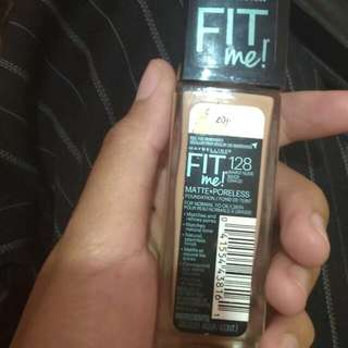 Fit Me Matte +poreless Shade 128