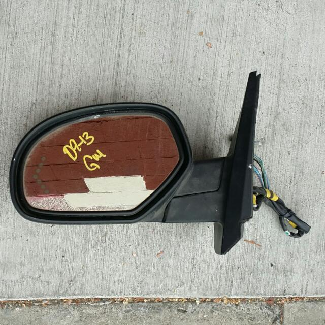 2009 Thru 2013 Chevy Tahoe Driver Mirror