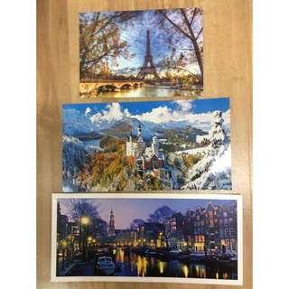 France / Germany / Netherland postcards