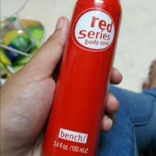 Perfume bodyspray Red Series Bench