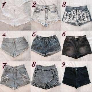 #1212YES HMU SALE: Shorts, Denim, Cotton,