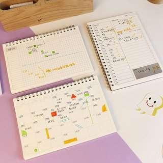 Planner Spiral Notebook