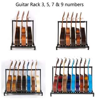 Sale! UP$77.99 Now only $47.99 for 3 Guitar rack stand Secured strong Tried with Bass guitar , electric guitar , acoustic guitar , guitalele and ukulele ! Guitar stand Secured strong