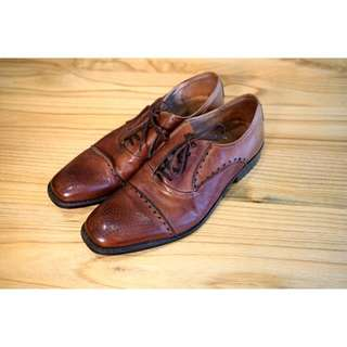 Manfield Brogue Shoes, Size US 9.5 / EU 43.5