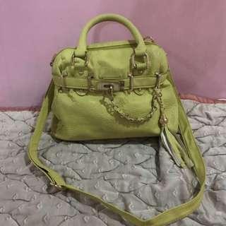 Steve Madden Lime Green Hand Bag