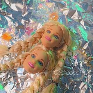 甜心芭比barbie娃娃耳墜耳環耳釘 酷女孩