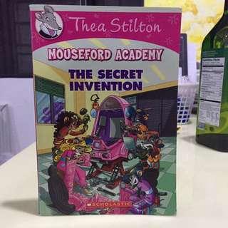 Thea Stilton (The Secret Invention)