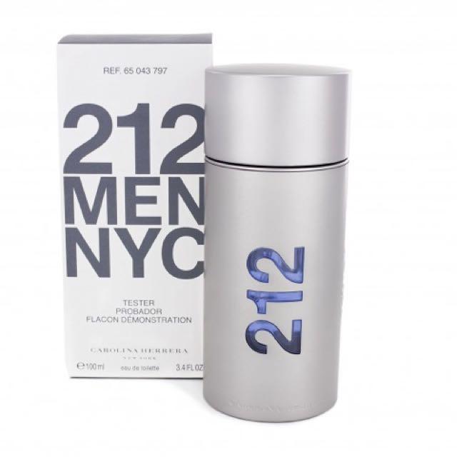 3d88c3306 212 NYC CAROLINA HERRERA FOR MEN (100ml)