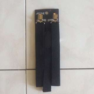 Black Suspenders From Ardene