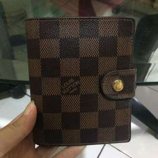 LV Damier Ebene Wallet [DEFECT]