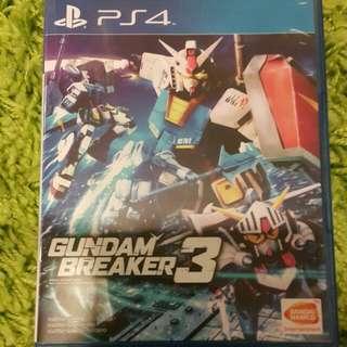 Gundam Breaker 3 for PS4 (English ver.)