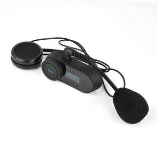 Original FreedConn Open Face Helmet Bluetooth Headset  TCOM-SC (Upgraded Model With Display Screen)