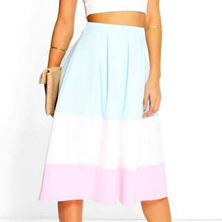 Boohoo Sz14 Midi Skirt