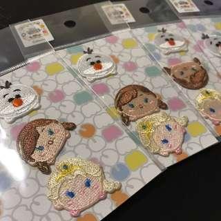 日本 UNIQLO x Disney Tsum Tsum 冰雪奇緣 Elsa Anna 燙章