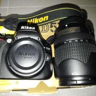 NIKON D5100 with 18-140mm Lens