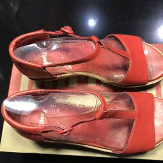 Camper Damas Red Shoes