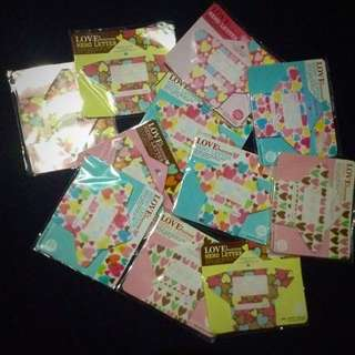 ☔️Price Drop!!☔️ Take All assorted Set Of 11 Mini💌💋❤️letters