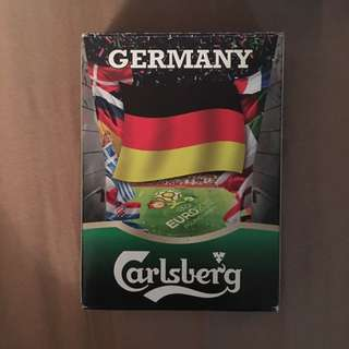 Rare Euro 2012 Carlsberg Playing Cards