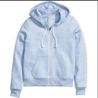 HnM baby blue jacket